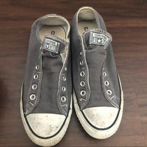 Men's Converse slip on shoes